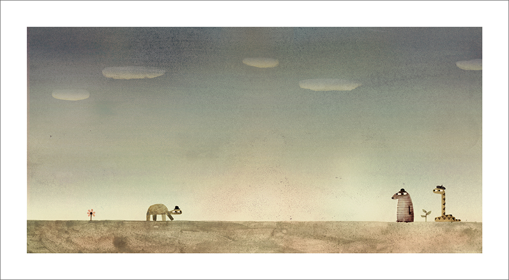 Rock from the Sky - Page 26 (Print), Jon Klassen
