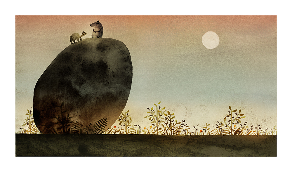 Rock from the Sky - Page 50 (Print), Jon Klassen