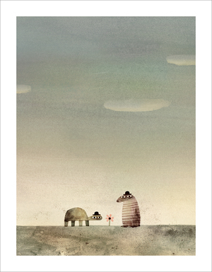 Rock from the Sky - Page 10 (Print), Jon Klassen